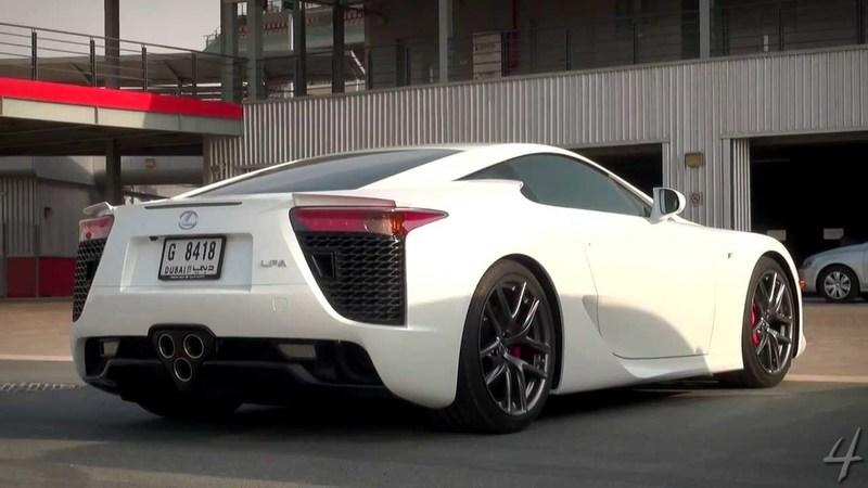 Video: Lexus LF-A Sounds Great at 124 MPH