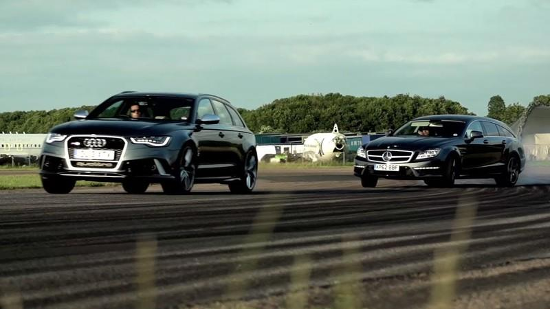 Video: Chris Harris Compares the Audi RS6 and Mercedes CLS 63 AMG Shooting Brake