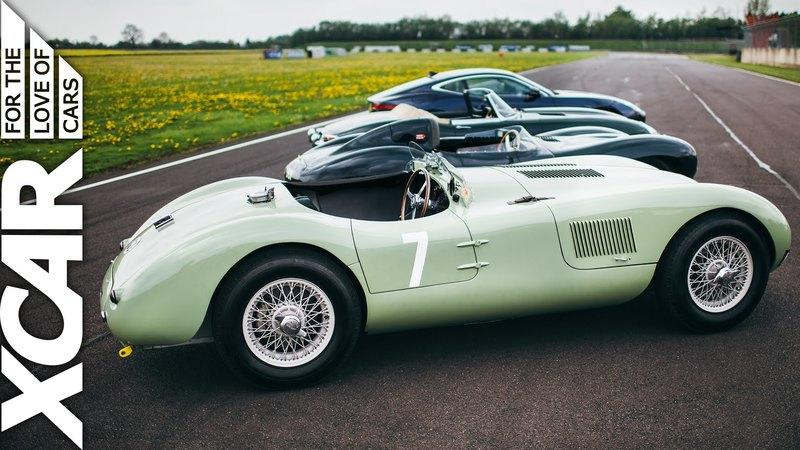 Video: Evolution Of Jaguar - From C-Type To F-Type