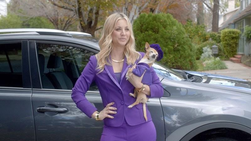 Super Bowl Ad: Kaley Couco is Toyota's Hot Wish-Granting RAV4 Genie