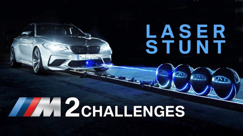 BMW M2 Competition Breaks Weird World Record in The Name of Marketing