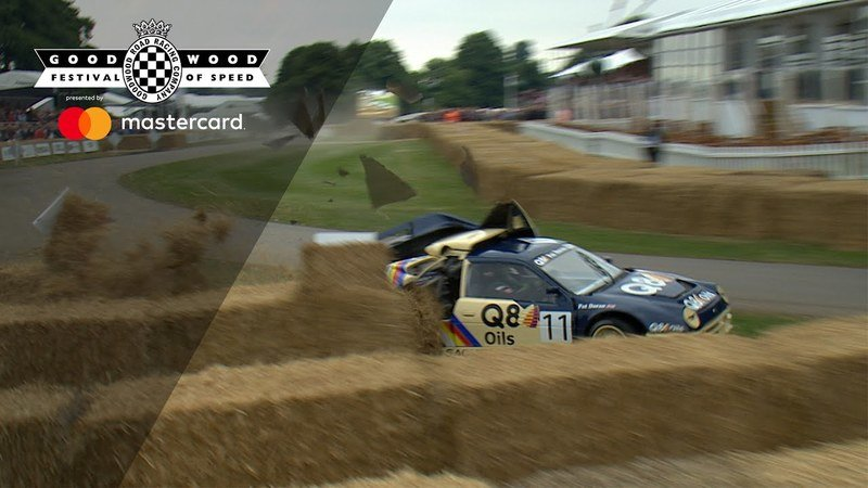 Ford RS200 Evolution has a Bad Day at Goodwood
