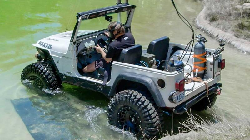 """Dirt Every Day"" Makes a Cummins-powered Jeep Wrangler TJ Drive Underwater: Video"