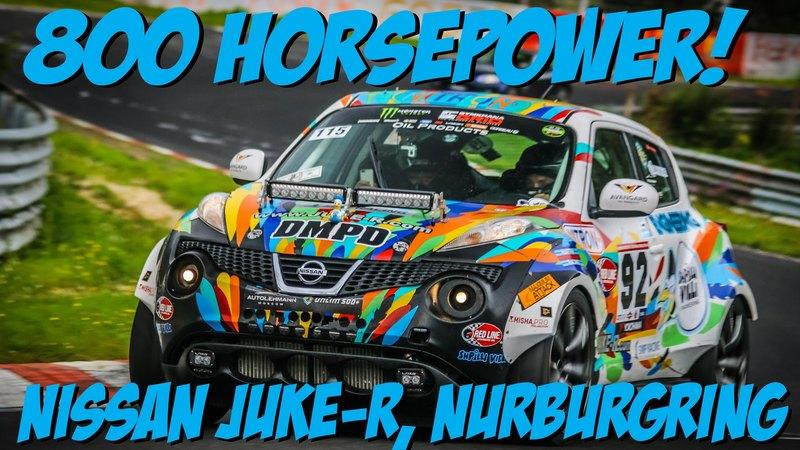 Video: 800-Horsepower Nissan Juke R Is Unleashed At The Nurburgring