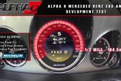 2013 Mercedes E63 AMG Alpha 9 BiTurbo by Alpha Performance