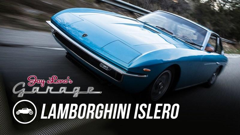 Jay Leno Reviews 1968 Lamborghini Islero: Video