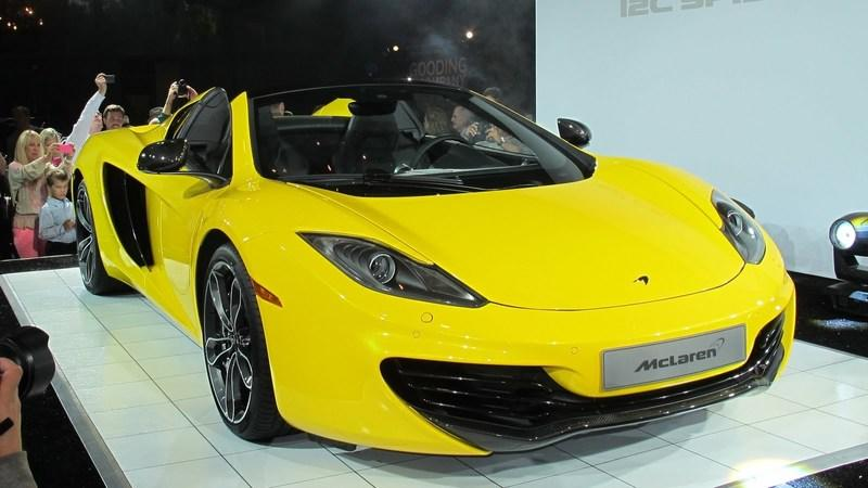Video: McLaren Designer talks about the 12C Spider