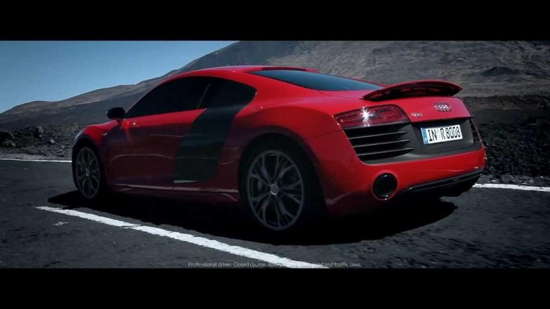Video: The New Audi R8 is Iron Man Approved