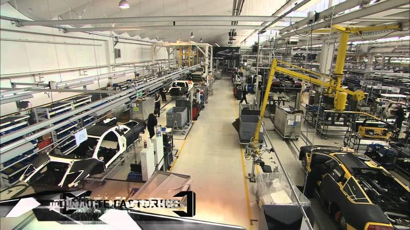 Video: Inside the Lamborghini factory