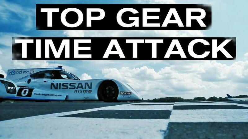 Video: Nissan ZEOD RC Laps Top Gear Track In 1:05.3