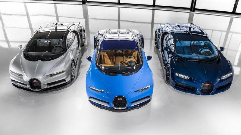 Bugatti Announces First Deliveries Of Chiron To Remind Us We're All Still Peasants