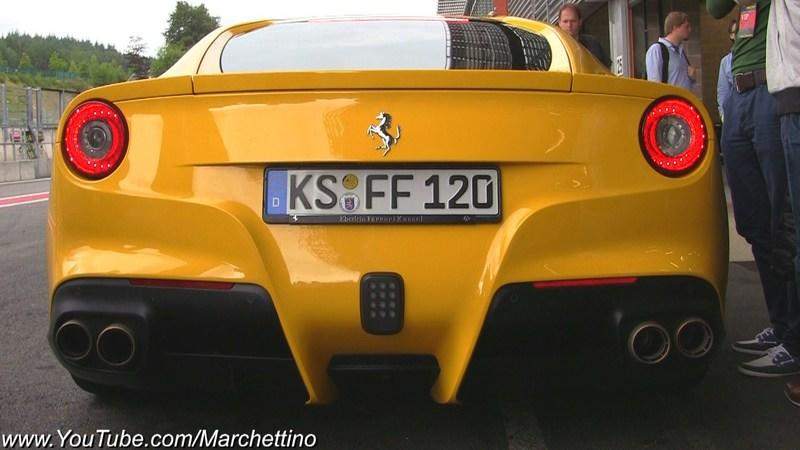 Video: Ferrari F12 Berlinetta Sound Check - Novitec Exhaust vs Stock