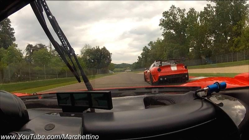 Video: Ferrari FXX Evolution at Imola