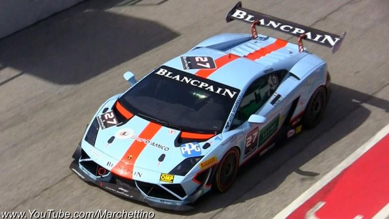 Video: The Sounds of the Lamborghini LP570-4 SuperTrofeo