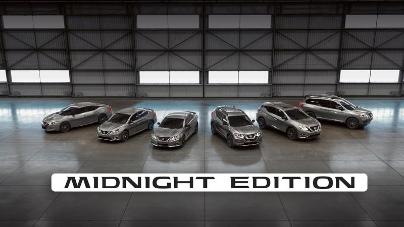Nissan's Rolling Out The Goods With Its New Midnight Edition Package