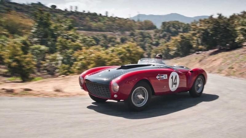 1953 Ferrari 375 MM Spider by Pininfarina