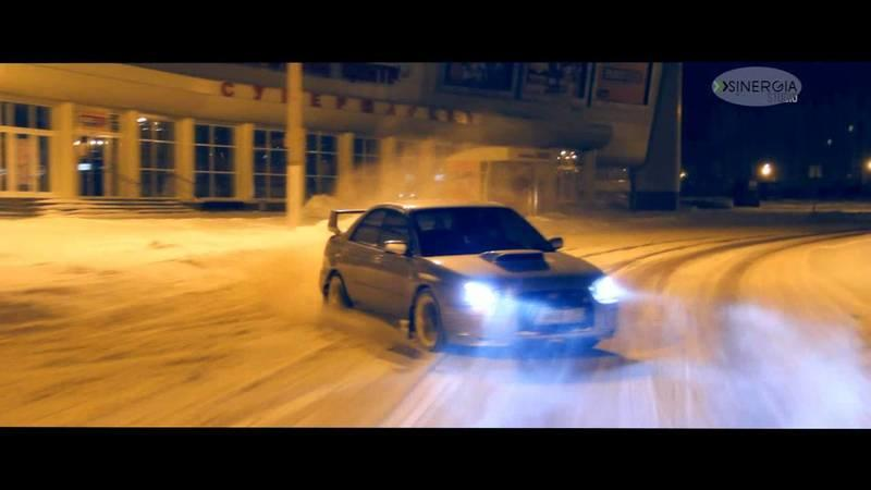 Video: WRX STi Goes Playing in the Snow and Ice