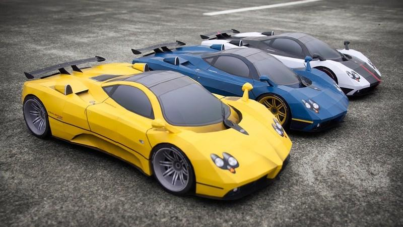 Video: Here's How You Can Build Your Own Pagani Zonda for Two Bucks