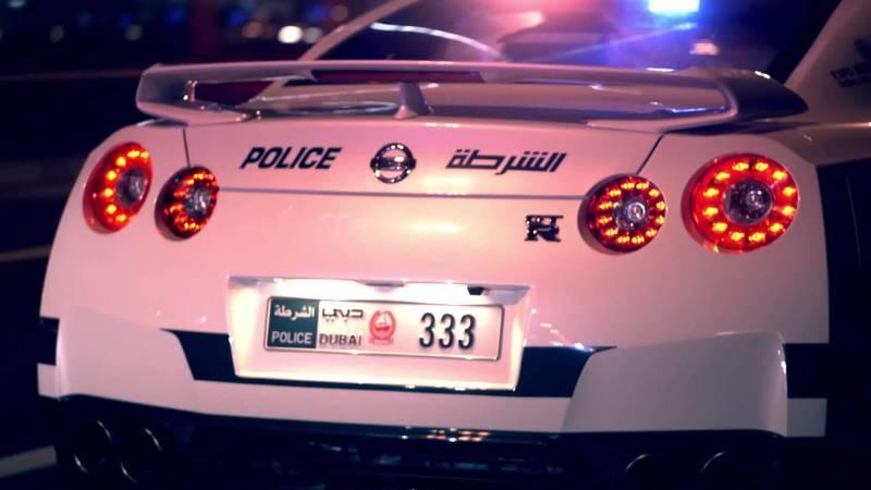 Here is Dubai's Police Supercar Fleet in Action: Video