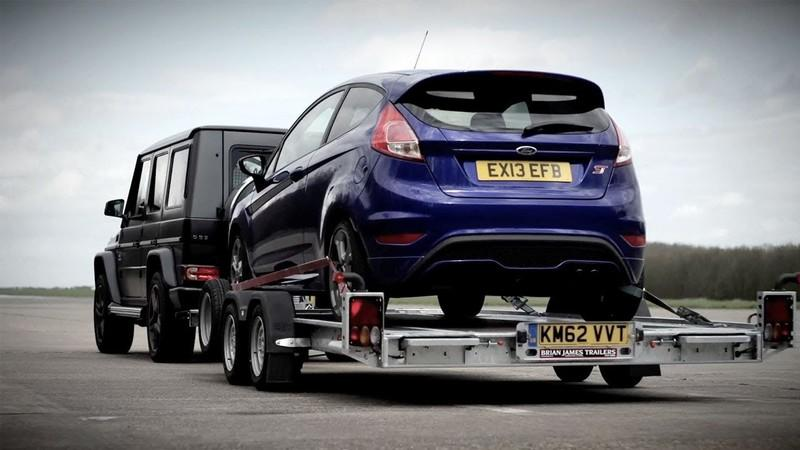 Video: Chris Harris Puts the Fiesta ST Against the G63 AMG in a Weird Way