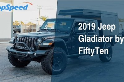 2019 Jeep Gladiator by FiftyTen