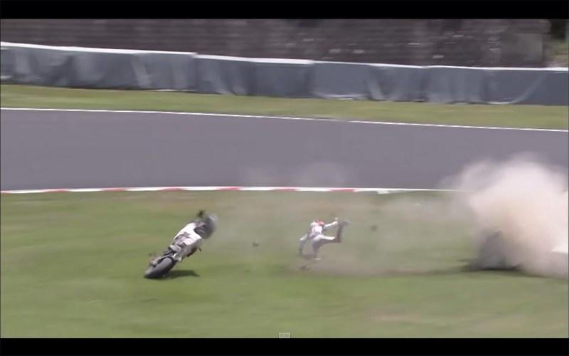 Video: Casey Stoner's Crash At Suzuka 8 Hours Caught On Tape