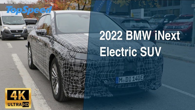 2022 BMW iNext Electric SUV