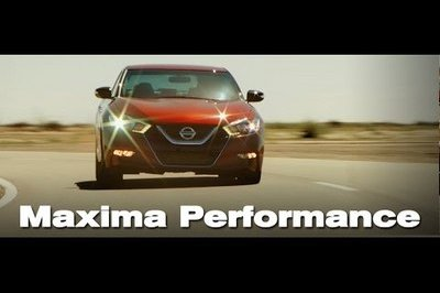 New Nissan Maxima Goes Into Production