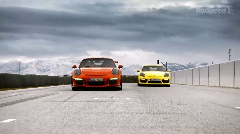 Porsche 911 GT3 RS And Cayman GT4 Star In Latest Promo: Video