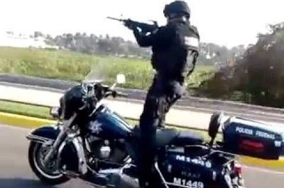 Video: This Stunt-Riding Mexican Cop Is A Scary Sight