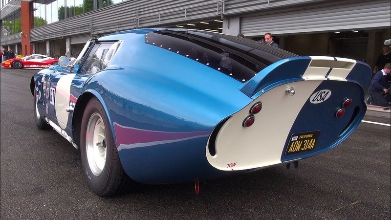 Kick Off The Weekend With This Video of a $7.25 Million Shelby Daytona Cobra Coupe At Spa