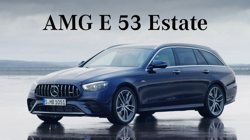 2021 Mercedes-AMG E 53 4MATIC+