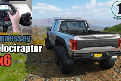 You Must Drive the Hennessey Velociraptor 6x6 in Forza Horizon 4