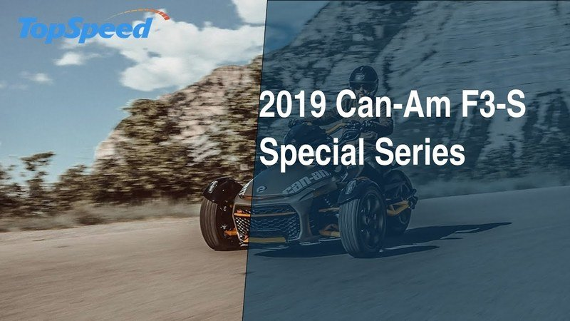 2019 Can-Am F3-S Special Series
