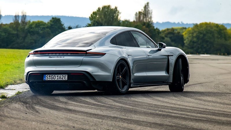The Porsche Taycan Has Limitless Launch Control
