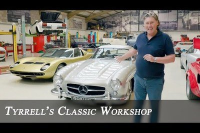 This Is How You Recommission A Classic Mercedes 300SL Gullwing