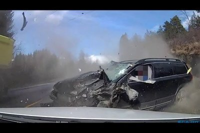 Are Volvos Safe? This Video Says Yes Sir!