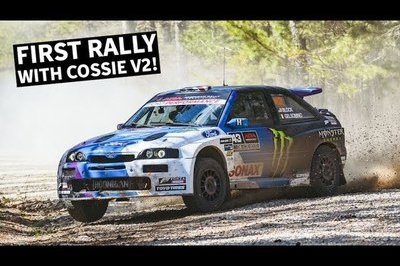 Ken Block's New Ford Escort RS Cosworth Didn't Even Survive its First Race