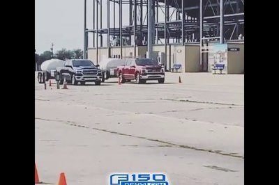 The Ford F-150 Hybrid Makes the Ram 1500 Hemi Hybrid Look Bad in Towing Racing