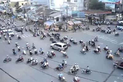 Vietnam is now fighting the war on motorcycles. Will ban them by 2030.