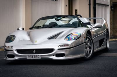 This Straight-Piped Ferrari F50 Sounds Better On The Streets Of London Than It Does The Track