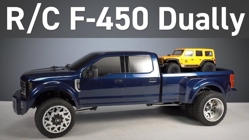 This Radio-Controlled Ford F450 Dually Is The Workhorse of the RC World