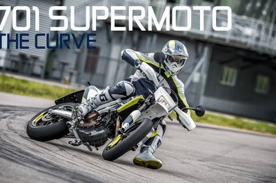 Video: Husqvarna 701 Supermoto Runs Wild