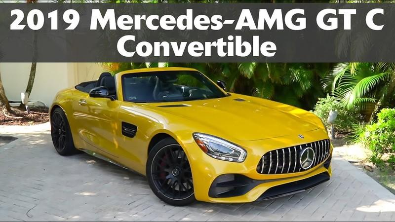 2019 Mercedes-AMG GT C Roadster - Driven