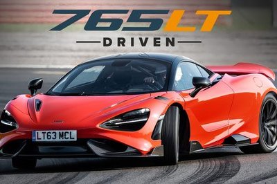 This is What It's Like to Drive the McLaren 765LT on the Track!