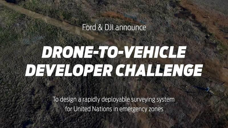 Ford And DJI Developing Drone-to-Car Communications