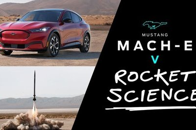 Ford Mach-E Vs. A Rocket?
