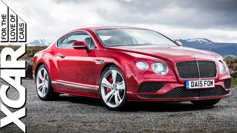 XCAR Reviews 2016 Bentley Continental GT: Video