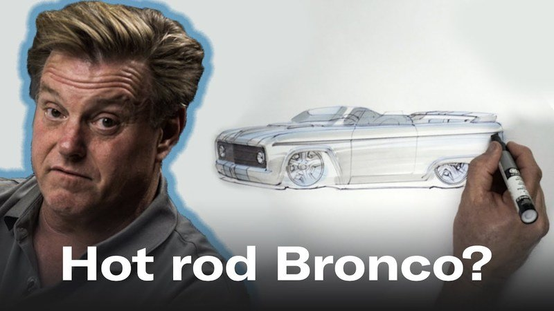 Watch Chip Foose Redesign The First-Gen Ford Bronco As A Hot-Rod