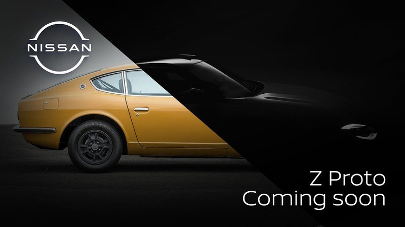 Nissan's Latest Teaser for the 400Z Hints at a Manual Transmission!